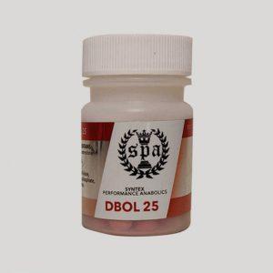 Syntex - Dianabol 25mg/60 Tabs
