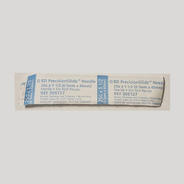 25G x 1.5″ BD PrecisionGlide™ Needle